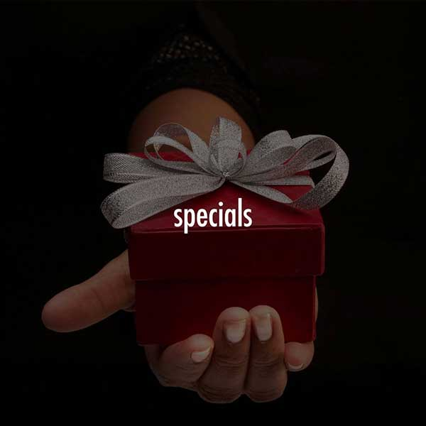 Cosmetic Surgeon specials, someone holding a gift box to represent the specials available at Advanced BodySculpting of New England.
